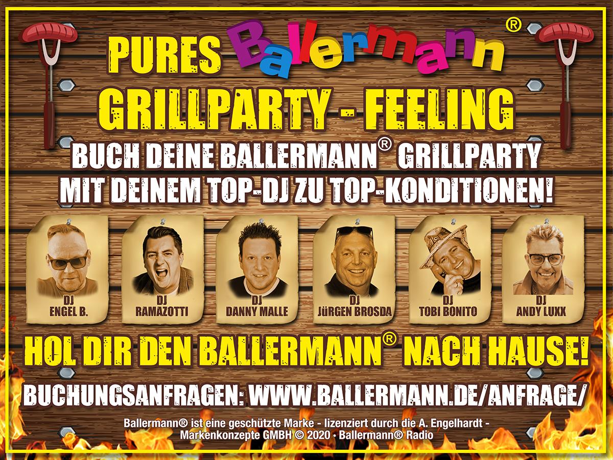 Exklusive Ballermann® Grillparty Mit Ihrem Top-DJ